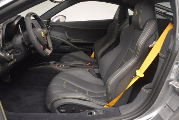 Used 2014 Ferrari 458 Italia for sale Sold at Aston Martin of Greenwich in Greenwich CT 06830 14