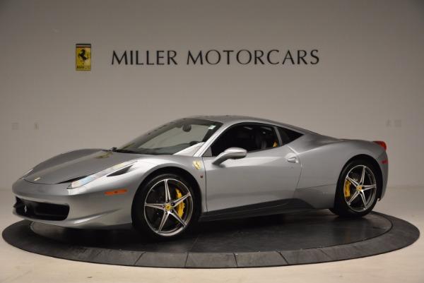 Used 2014 Ferrari 458 Italia for sale Sold at Aston Martin of Greenwich in Greenwich CT 06830 2