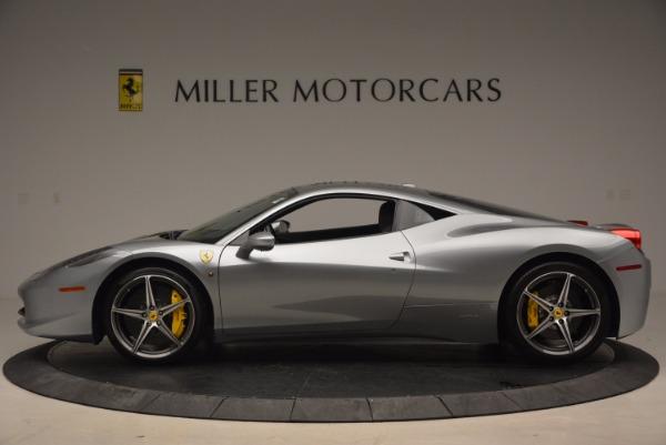 Used 2014 Ferrari 458 Italia for sale Sold at Aston Martin of Greenwich in Greenwich CT 06830 3