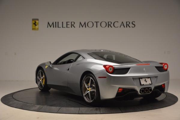 Used 2014 Ferrari 458 Italia for sale Sold at Aston Martin of Greenwich in Greenwich CT 06830 5