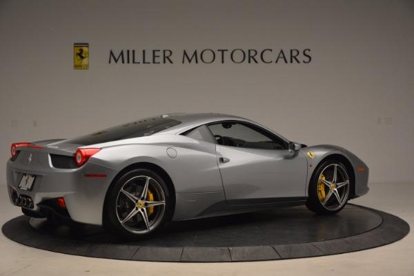 Used 2014 Ferrari 458 Italia for sale Sold at Aston Martin of Greenwich in Greenwich CT 06830 8