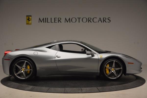 Used 2014 Ferrari 458 Italia for sale Sold at Aston Martin of Greenwich in Greenwich CT 06830 9