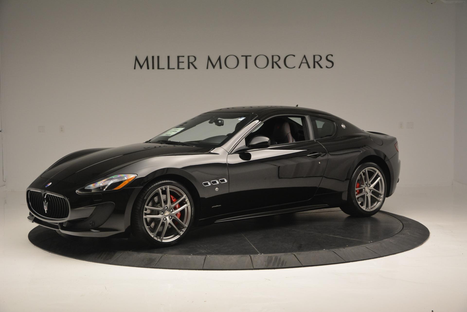 New 2016 Maserati GranTurismo Sport for sale Sold at Aston Martin of Greenwich in Greenwich CT 06830 1