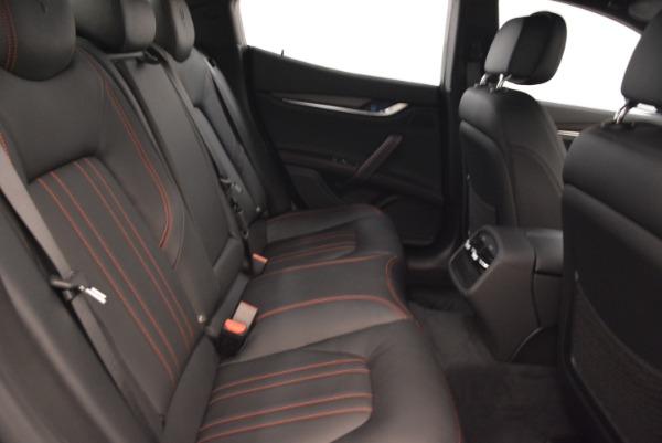 Used 2018 Maserati Ghibli S Q4 for sale $55,900 at Aston Martin of Greenwich in Greenwich CT 06830 24