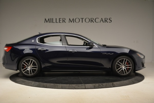 New 2018 Maserati Ghibli S Q4 for sale Sold at Aston Martin of Greenwich in Greenwich CT 06830 9