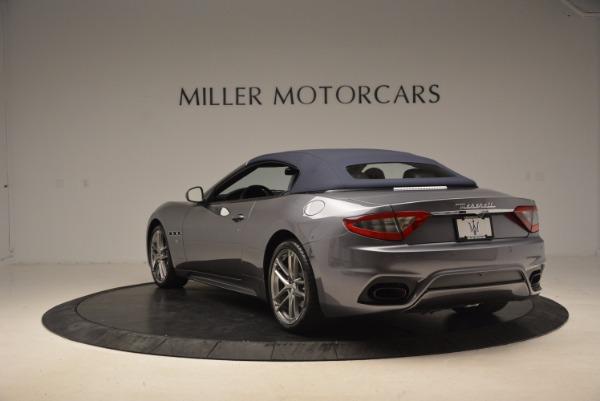 Used 2018 Maserati GranTurismo Sport Convertible for sale Sold at Aston Martin of Greenwich in Greenwich CT 06830 10