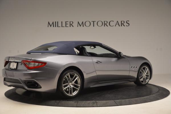 Used 2018 Maserati GranTurismo Sport Convertible for sale Sold at Aston Martin of Greenwich in Greenwich CT 06830 16