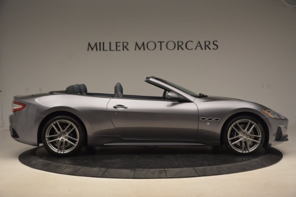 Used 2018 Maserati GranTurismo Sport Convertible for sale Sold at Aston Martin of Greenwich in Greenwich CT 06830 17