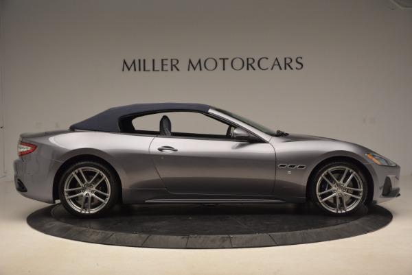 Used 2018 Maserati GranTurismo Sport Convertible for sale Sold at Aston Martin of Greenwich in Greenwich CT 06830 18