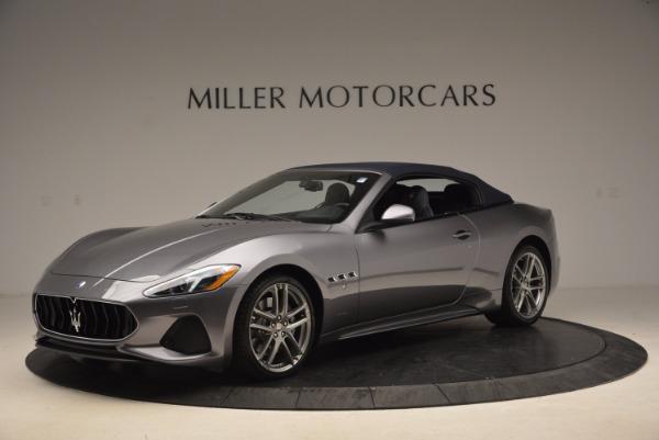 Used 2018 Maserati GranTurismo Sport Convertible for sale Sold at Aston Martin of Greenwich in Greenwich CT 06830 4