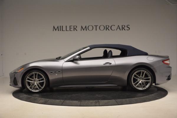 Used 2018 Maserati GranTurismo Sport Convertible for sale Sold at Aston Martin of Greenwich in Greenwich CT 06830 6