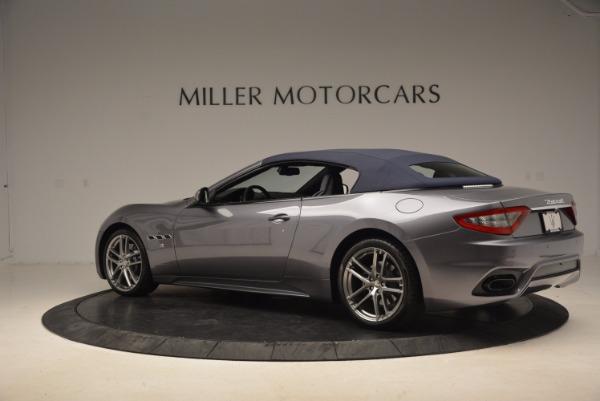 Used 2018 Maserati GranTurismo Sport Convertible for sale Sold at Aston Martin of Greenwich in Greenwich CT 06830 8