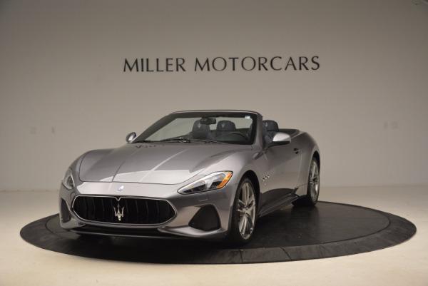 Used 2018 Maserati GranTurismo Sport Convertible for sale Sold at Aston Martin of Greenwich in Greenwich CT 06830 1