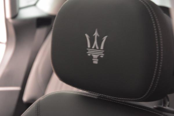 New 2018 Maserati Levante Q4 GranLusso for sale Sold at Aston Martin of Greenwich in Greenwich CT 06830 27