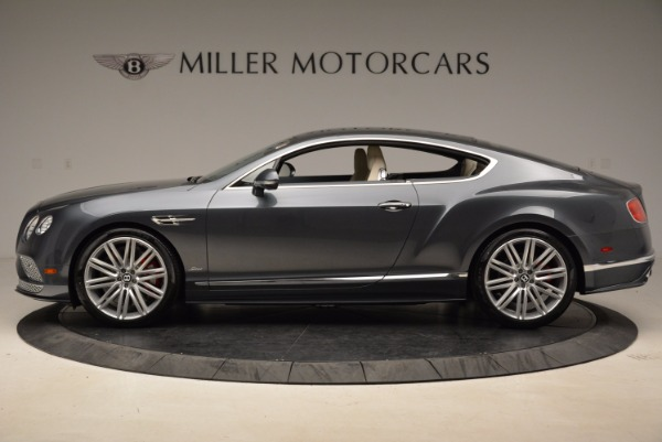 New 2017 Bentley Continental GT Speed for sale Sold at Aston Martin of Greenwich in Greenwich CT 06830 3