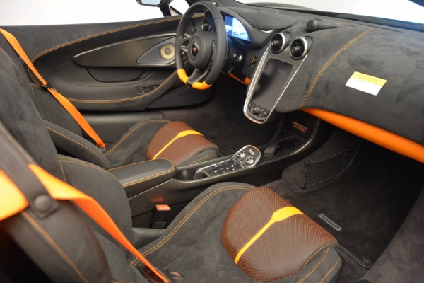 Used 2018 McLaren 570S Spider for sale Sold at Aston Martin of Greenwich in Greenwich CT 06830 27