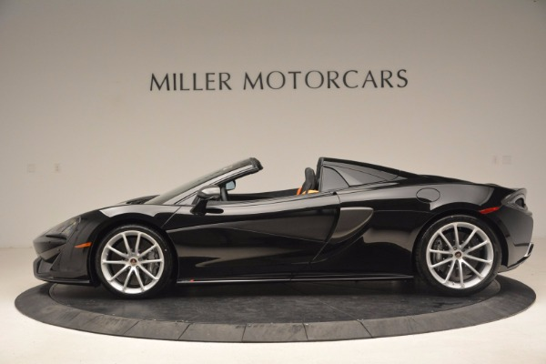 Used 2018 McLaren 570S Spider for sale Sold at Aston Martin of Greenwich in Greenwich CT 06830 3