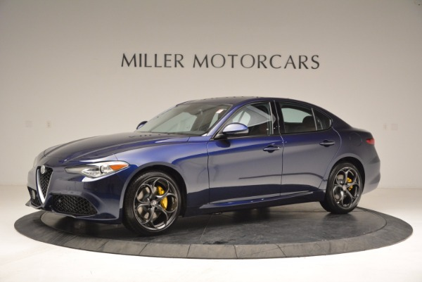 New 2018 Alfa Romeo Giulia Ti Sport Q4 for sale Sold at Aston Martin of Greenwich in Greenwich CT 06830 2