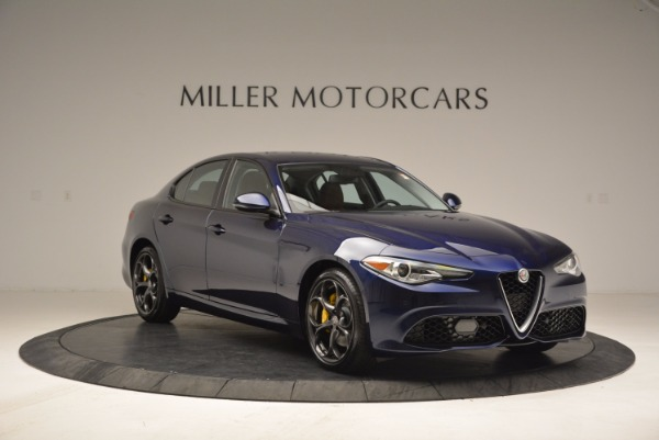 New 2018 Alfa Romeo Giulia Ti Sport Q4 for sale Sold at Aston Martin of Greenwich in Greenwich CT 06830 9