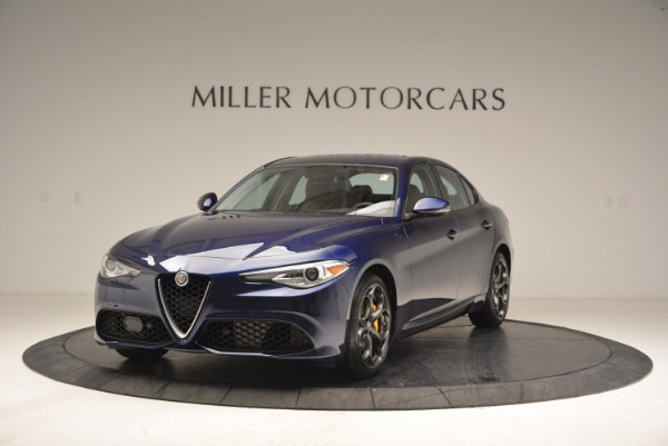 New 2018 Alfa Romeo Giulia Ti Sport Q4 for sale Sold at Aston Martin of Greenwich in Greenwich CT 06830 1