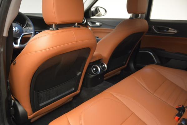 New 2018 Alfa Romeo Giulia Ti Lusso Q4 for sale Sold at Aston Martin of Greenwich in Greenwich CT 06830 17
