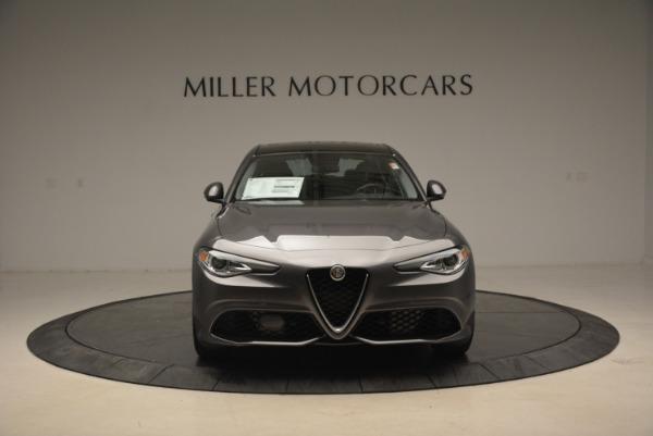 New 2018 Alfa Romeo Giulia Ti Sport Q4 for sale Sold at Aston Martin of Greenwich in Greenwich CT 06830 12