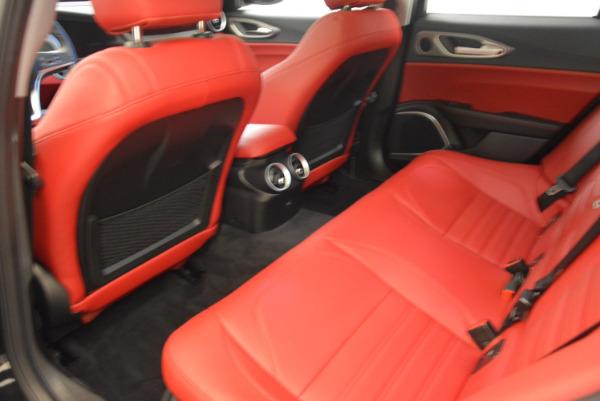 New 2018 Alfa Romeo Giulia Ti Sport Q4 for sale Sold at Aston Martin of Greenwich in Greenwich CT 06830 16