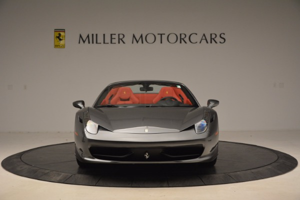 Used 2014 Ferrari 458 Spider for sale Sold at Aston Martin of Greenwich in Greenwich CT 06830 12
