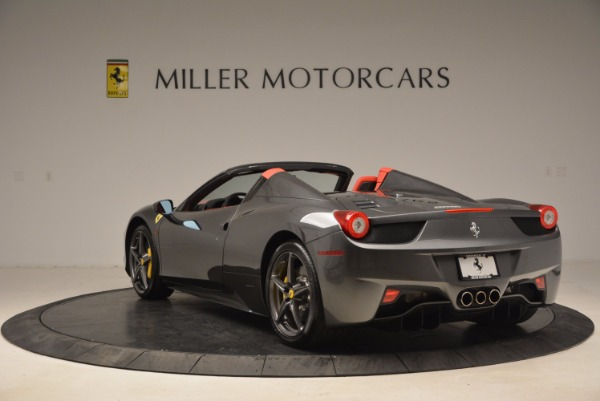 Used 2014 Ferrari 458 Spider for sale Sold at Aston Martin of Greenwich in Greenwich CT 06830 5