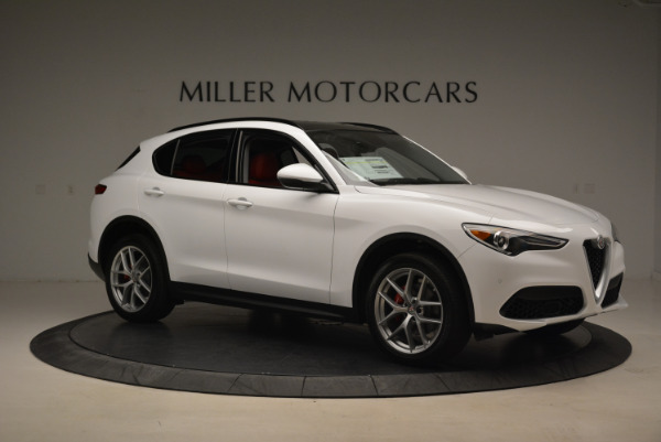 New 2018 Alfa Romeo Stelvio Sport Q4 for sale Sold at Aston Martin of Greenwich in Greenwich CT 06830 10