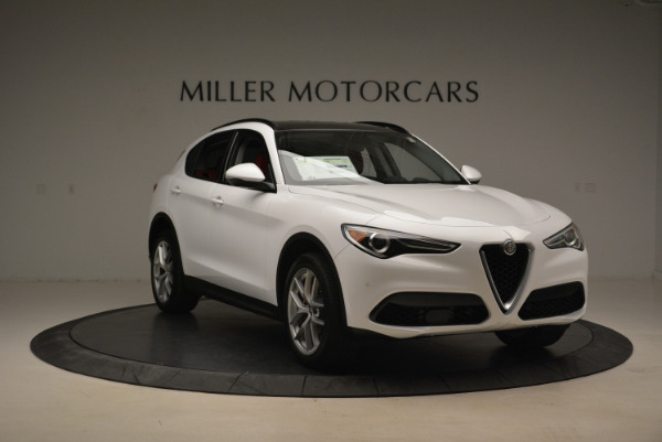 New 2018 Alfa Romeo Stelvio Sport Q4 for sale Sold at Aston Martin of Greenwich in Greenwich CT 06830 11