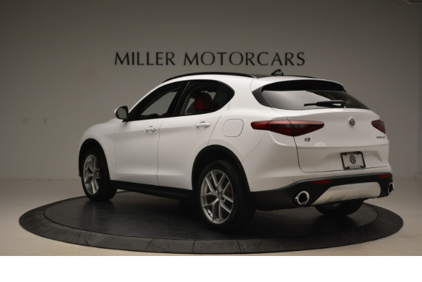 New 2018 Alfa Romeo Stelvio Sport Q4 for sale Sold at Aston Martin of Greenwich in Greenwich CT 06830 5