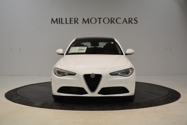 New 2018 Alfa Romeo Giulia Ti Lusso Q4 for sale Sold at Aston Martin of Greenwich in Greenwich CT 06830 12