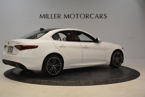New 2018 Alfa Romeo Giulia Ti Lusso Q4 for sale Sold at Aston Martin of Greenwich in Greenwich CT 06830 8