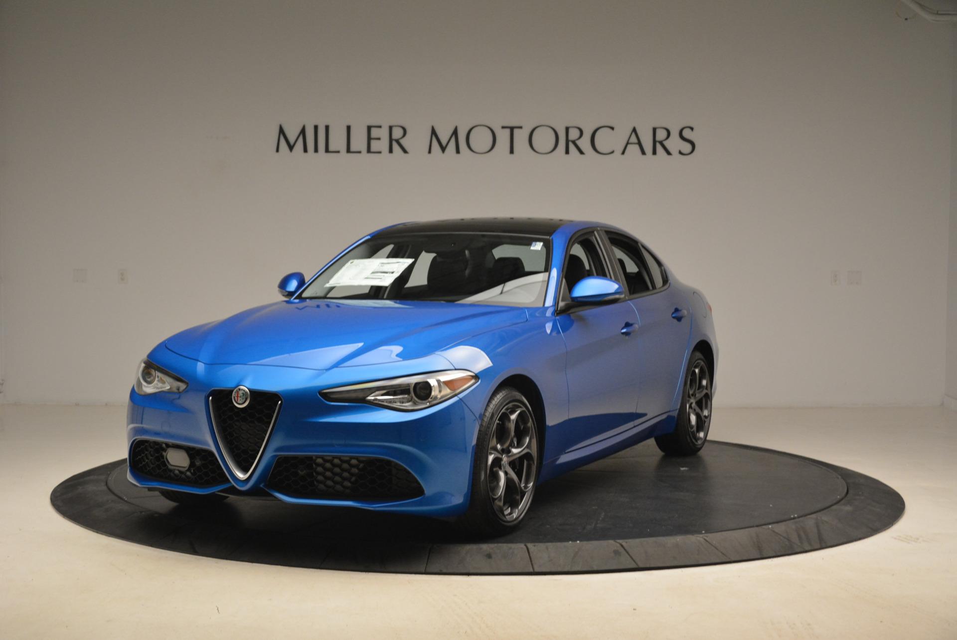 New 2018 Alfa Romeo Giulia Ti Sport Q4 for sale Sold at Aston Martin of Greenwich in Greenwich CT 06830 1