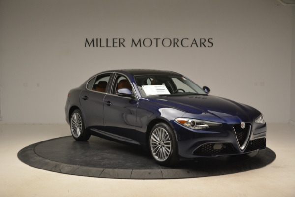 New 2018 Alfa Romeo Giulia Ti Lusso Q4 for sale Sold at Aston Martin of Greenwich in Greenwich CT 06830 11