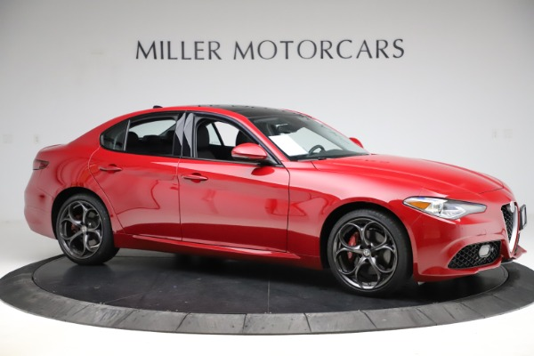 Used 2018 Alfa Romeo Giulia Ti Sport Q4 for sale $34,900 at Aston Martin of Greenwich in Greenwich CT 06830 10