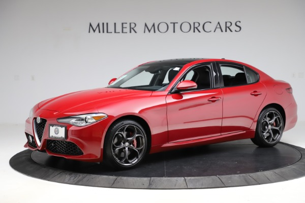 Used 2018 Alfa Romeo Giulia Ti Sport Q4 for sale $34,900 at Aston Martin of Greenwich in Greenwich CT 06830 2