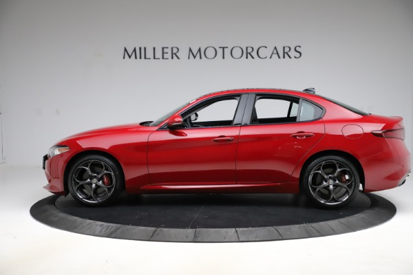 New 2018 Alfa Romeo Giulia Ti Sport Q4 for sale Sold at Aston Martin of Greenwich in Greenwich CT 06830 3