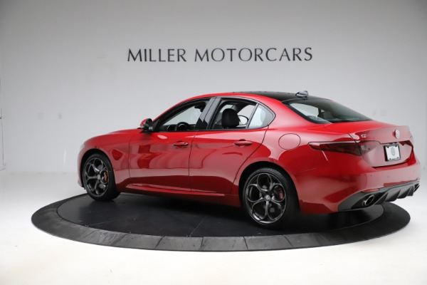 New 2018 Alfa Romeo Giulia Ti Sport Q4 for sale Sold at Aston Martin of Greenwich in Greenwich CT 06830 4