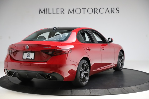 New 2018 Alfa Romeo Giulia Ti Sport Q4 for sale Sold at Aston Martin of Greenwich in Greenwich CT 06830 7