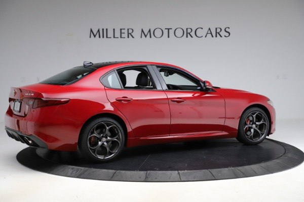 New 2018 Alfa Romeo Giulia Ti Sport Q4 for sale Sold at Aston Martin of Greenwich in Greenwich CT 06830 8