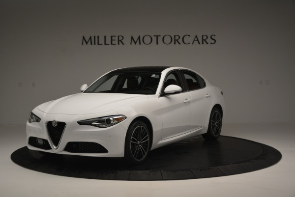 New 2018 Alfa Romeo Giulia Ti Lusso Q4 for sale Sold at Aston Martin of Greenwich in Greenwich CT 06830 2