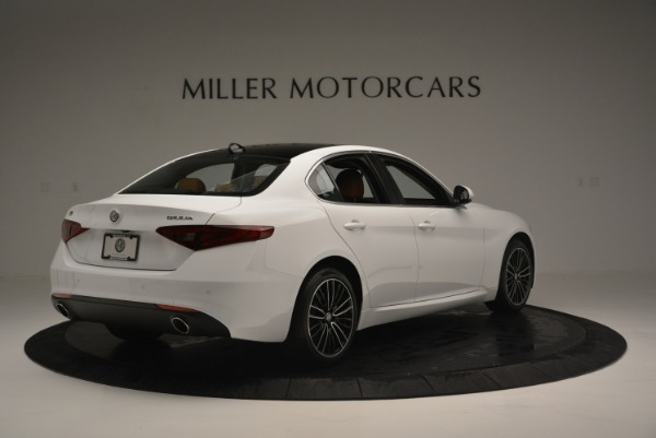 New 2018 Alfa Romeo Giulia Ti Lusso Q4 for sale Sold at Aston Martin of Greenwich in Greenwich CT 06830 7