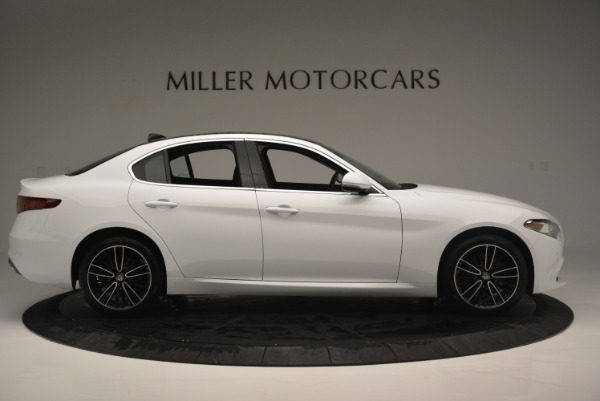 New 2018 Alfa Romeo Giulia Ti Lusso Q4 for sale Sold at Aston Martin of Greenwich in Greenwich CT 06830 9