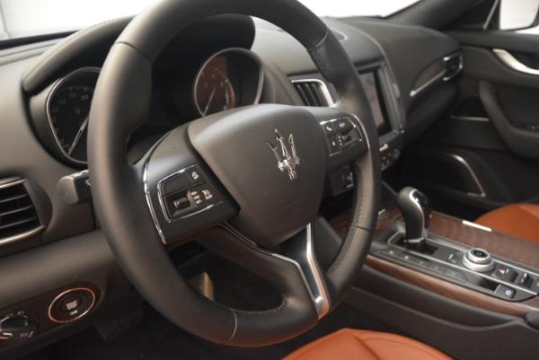 New 2018 Maserati Levante Q4 GranLusso for sale Sold at Aston Martin of Greenwich in Greenwich CT 06830 16