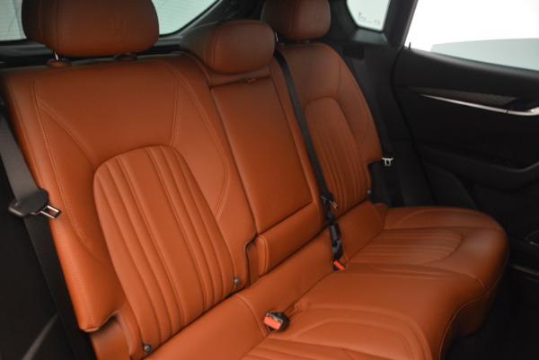 New 2018 Maserati Levante Q4 GranLusso for sale Sold at Aston Martin of Greenwich in Greenwich CT 06830 26