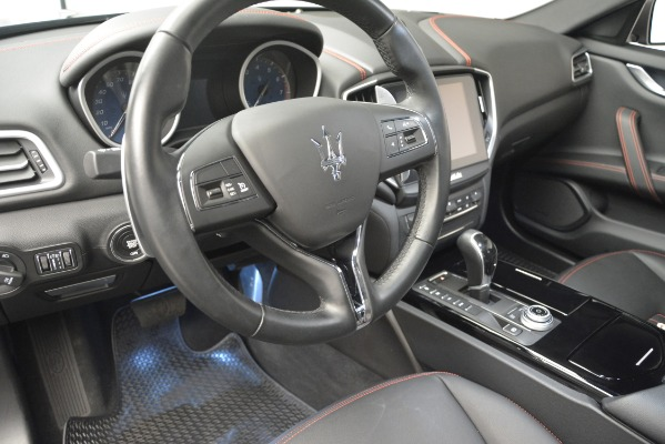 Used 2018 Maserati Ghibli S Q4 for sale Sold at Aston Martin of Greenwich in Greenwich CT 06830 14