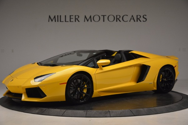 Used 2015 Lamborghini Aventador LP 700-4 Roadster for sale Sold at Aston Martin of Greenwich in Greenwich CT 06830 2