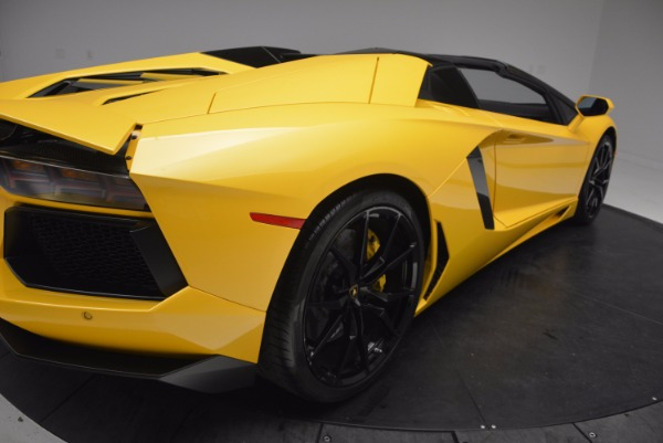 Used 2015 Lamborghini Aventador LP 700-4 Roadster for sale Sold at Aston Martin of Greenwich in Greenwich CT 06830 20